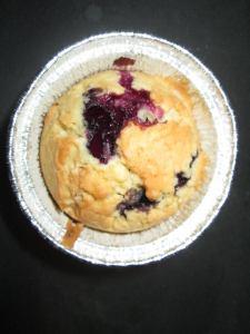 muffins végétaliens aux myrtilles