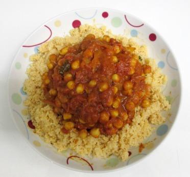 curry végétalien de pois chiche recette indienne vegan