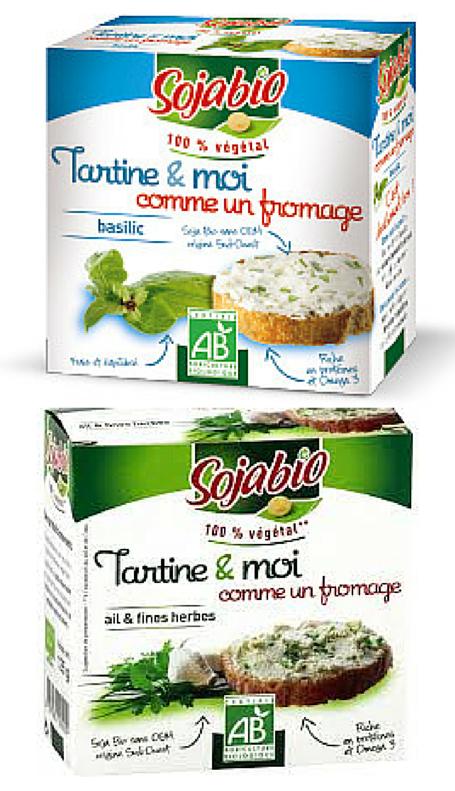 J'ai testé pour vous : le Tartine  & Moi (comme un fromage) deSojabio