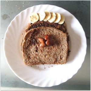 pain perdu vegetalien banane cannelle