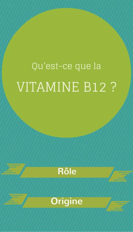 Qu'est-ce que la vitamine B12?