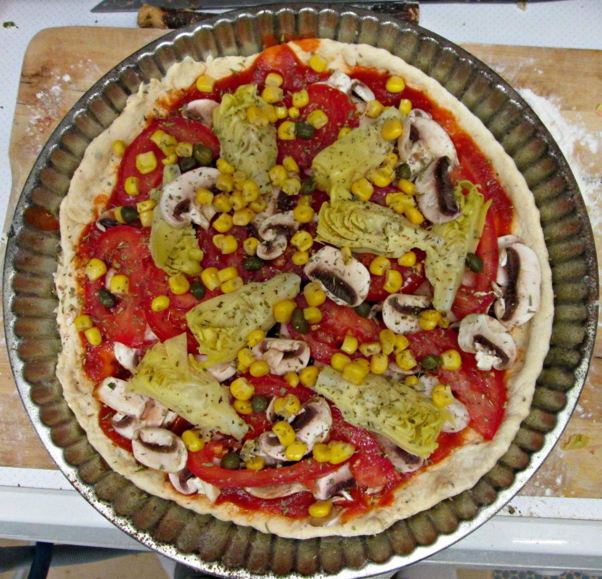 J'ai testé pour vous : la pâte à pizza auchou-fleur