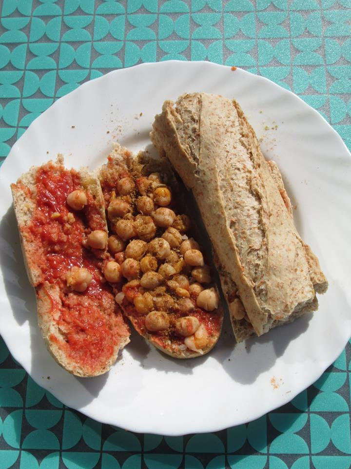 Le sandwich Lablabi : une recette tunisienne de sandwichvegan