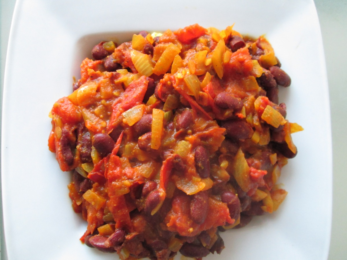 » Tchoutchouka  «, un recette algérienne et ma façon de l'adapter à nos besoins devégétaliens