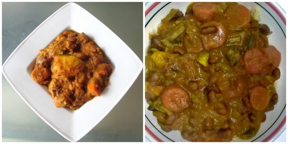 curry vegan pommes de terre carottes