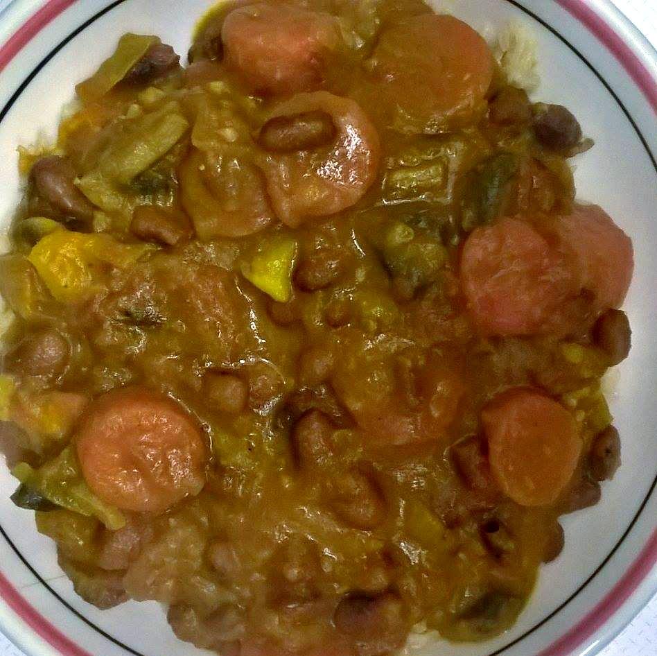 recette végétalienne curry vegan pommes de terre carottes