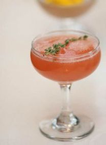 elephant rose cocktail vegan