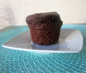 muffins vegans cacao chocolat moelleux